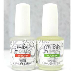 Gelish-Harmony-pH-BOND-Dehydrator-Nail-Prep-NOURISH-Cuticle-Oil-0-5oz-15ml
