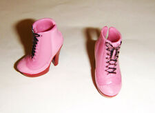 Monster High Doll Sized Pink Short Boots/Shoes For Monster High Dolls mh011
