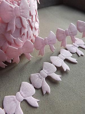 VINTAGE satin Bows trim ribbon scrapbooking sew crafts gift handmade DIY