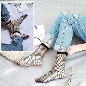 c76580e87 Women's Fishnet Ankle Socks Sheer Girl Fashion Sexy Stocking Hosiery ...