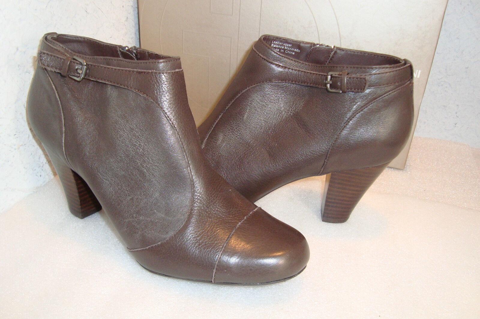 Giani Bernini Damenschuhe NWB Lorca Braun Ankle Stiefel Schuhes 9 Medium