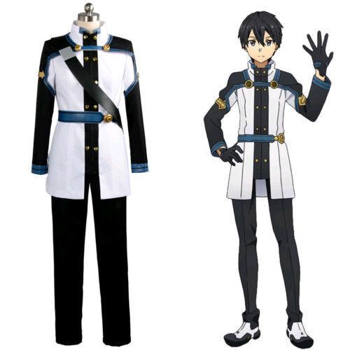 Sword Art Online SAO the Movie Ordinal Scale OS Kirito Kirigaya Cosplay