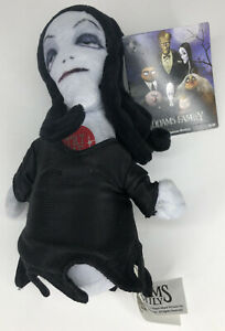 The-Addams-Family-Morticia-Addams-6-Singing-Squeezer-Plush-Theme-Song-New