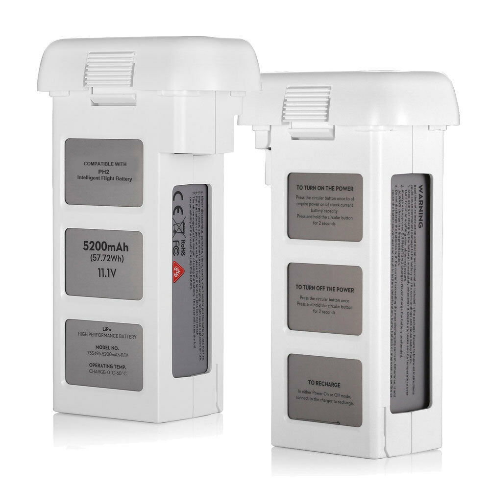 5200mah 111v 3s Intelligent Flight Battery For Dji Phantom 2 Vision Lipo Offers 10 Minute Time Depending On The Modes Norton Secured Powered By Verisign
