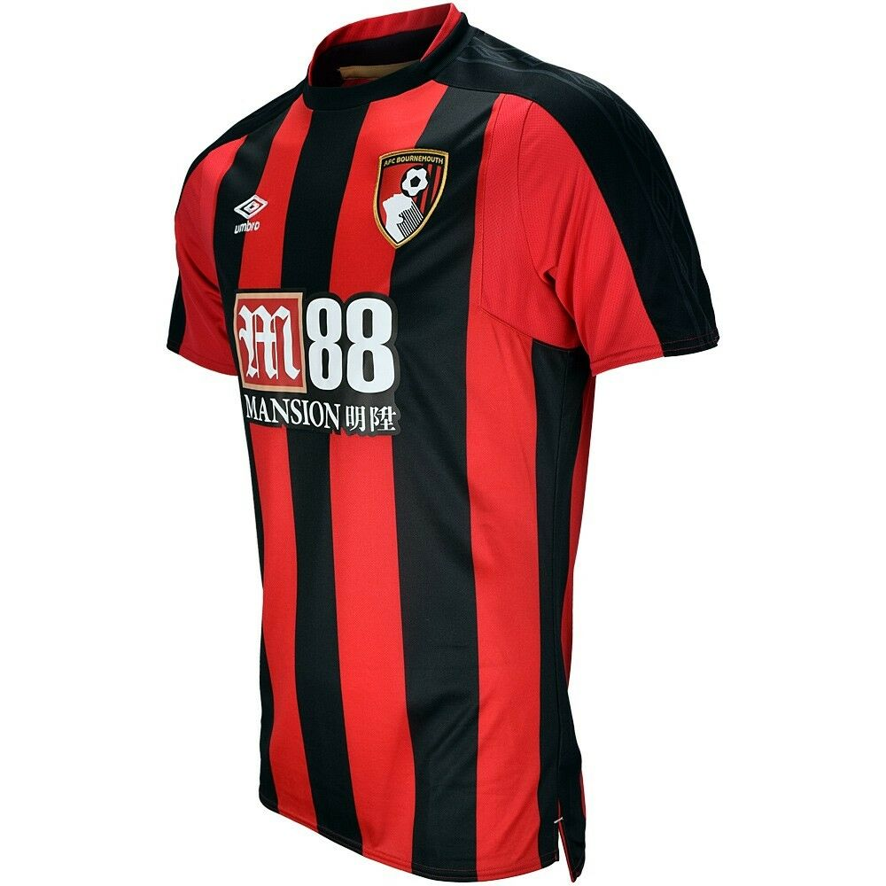 AFC BOURNEMOUTH 2017 18 HOME XL or 3RD L UMBRO S S SOCCER FOOTBALL SHIRT JERSEY