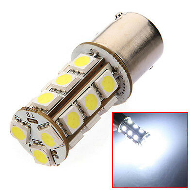 1156 BA15S 18 LED 5050 SMD Car Turn Tail Brake Stop Signal Light Lamp Bulb White