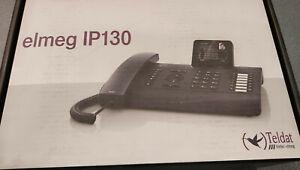 Elmeg IP130 - Teldat Bintec Funkwerk - Telefono VoIP Nero