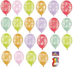 Simon Elvin 10 Pack Boy Girl Happy Birthday All Age 1 80 Latex