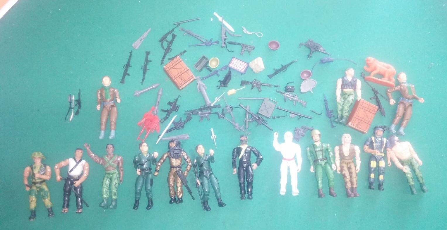 LOTTO FiguraS Eagle Force - G.I. Joe - Acción FiguraS - VINTAGE