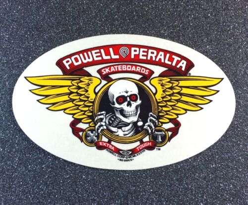 Powell Peralta Winged Ripper Skateboard Sticker 6.5in si