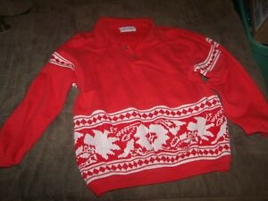 VTG-Ugly-Christmas-Sweater-by-Gym-Tonic-New-York-Paris-Size-XL-in-GREAT-Shape