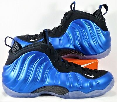 hot sale online e838b 0a930 Nike Air Foamposite One XX Penny Royal Blue & Black 20th Ann Sz 7 NEW  895320 500 886915314186 | eBay