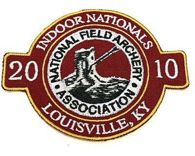 2015 INDOOR NATIONALS NFAA Archery Patch Louisville KY Indoor Field Vintage