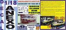 ANEXO DECAL 1/18 FORD ESCORT RS 1800 MK II ROTHMANS R.CLARK ACROPOLIS 1979 (04)