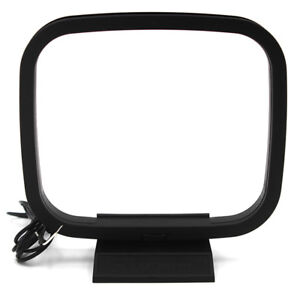 Indoor-AM-FM-Loop-Antenna-Aerial-Connector-for-StereoAudio-Receiver-System-ES