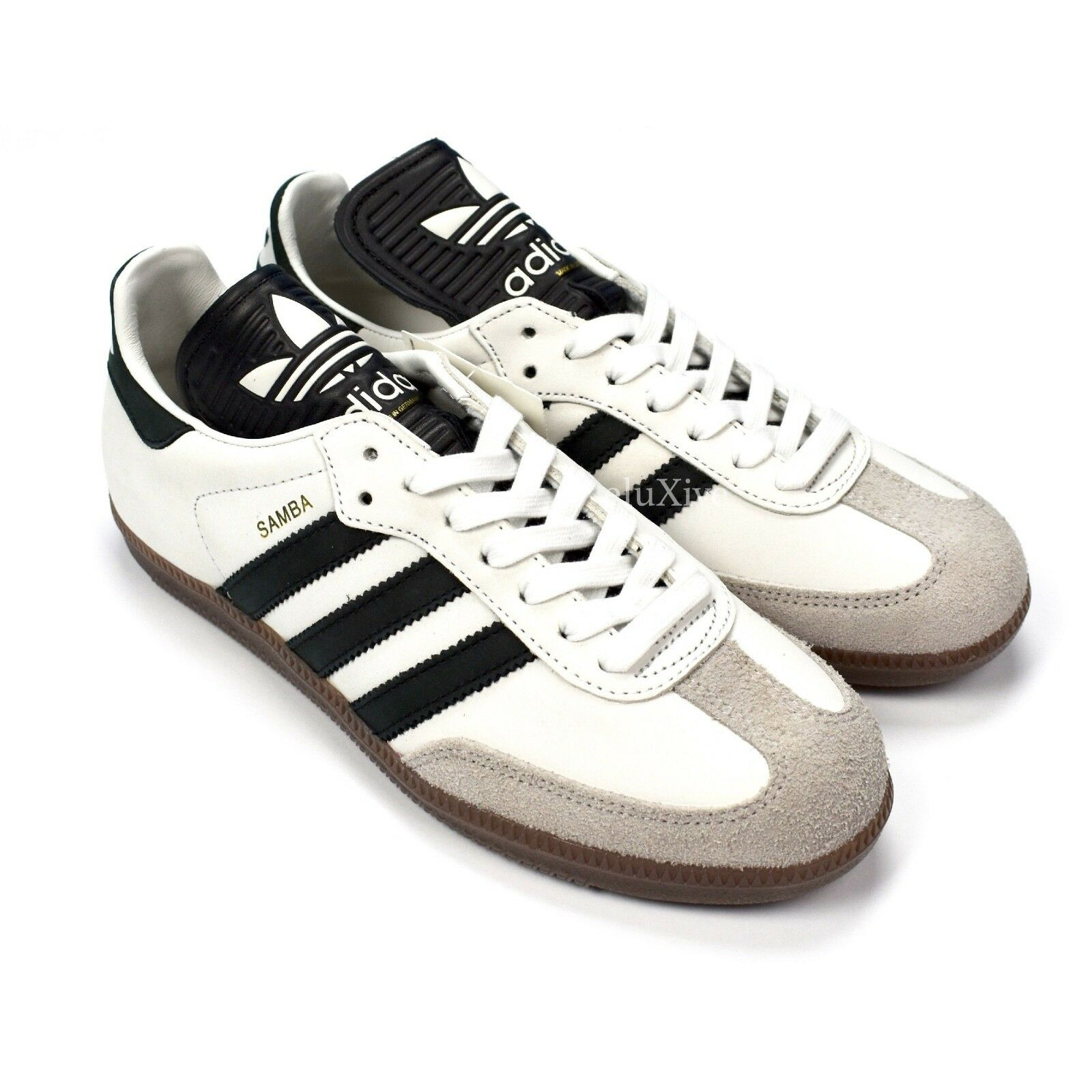 NWT Adidas Samba OG MIG Made in Germany Men's Leather Sneakers 7.5 DS AUTHENTIC