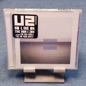 No-Line-on-the-Horizon-by-U2-CD-Mar-2009-Interscope-USA-FACTORY-SEALED
