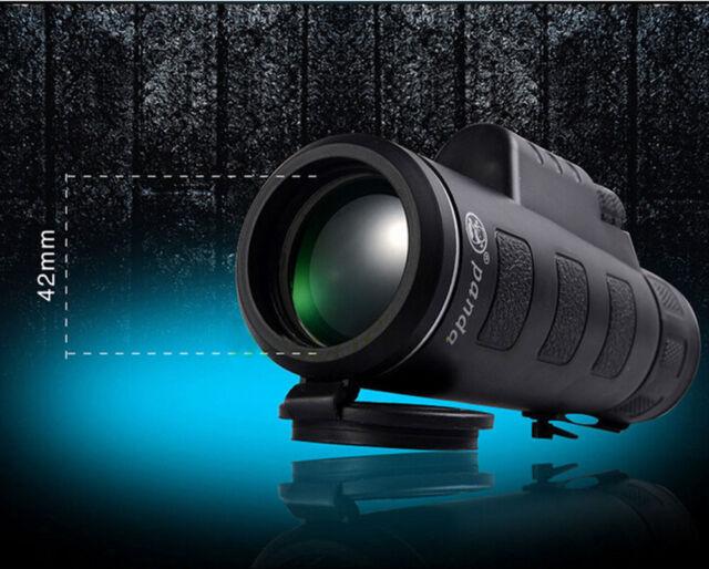 Panda focus zoom hd optics lens bk night vision monocular
