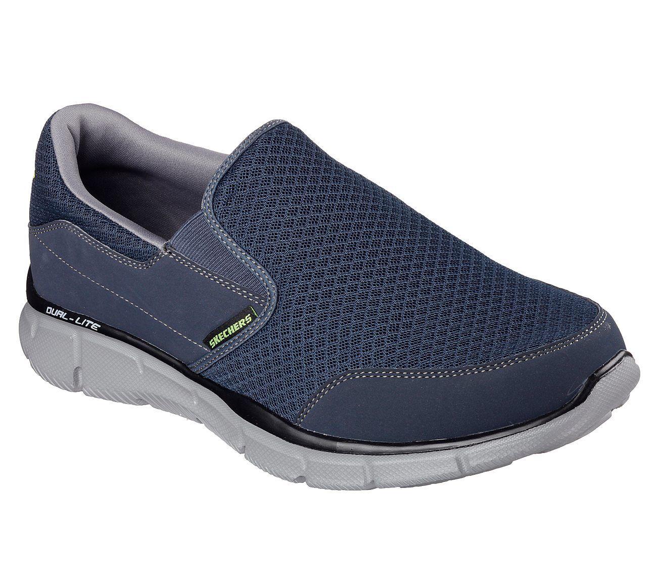 Skechers Equalizer - Persistente Scarpe Sportive Uomo Memory Foam Foam Foam da Passeggio   Aspetto estetico  c4d331