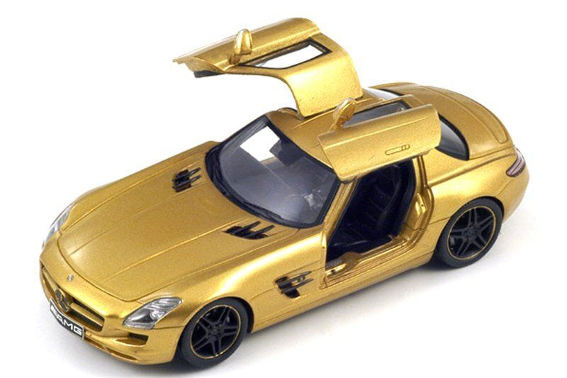 Mercedes Benz 1/43 Or Sls AMG Portes Ouvertes 2009 1/43 Spark | Magnifique  | Larges Variétés  | Insolite  | Conception Moderne