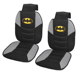 Image Is Loading Pair Batman Seat Cushions 2pc Padded Massage Car