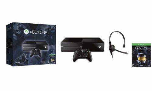 Microsoft Xbox One Halo The Master Chief Collection Bundle 500gb Black Console