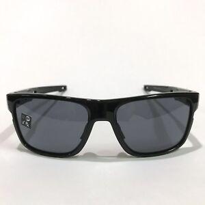 Oakley Sunglasses * Crossrange 9361-01 Polished Black w/ Grey COD PayPal