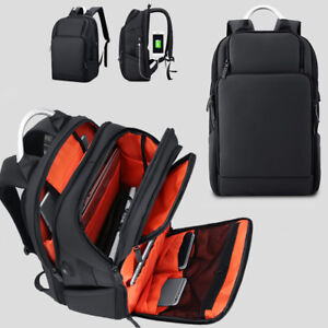 Water-Resistant-Business-Backpack-Travel-Rucksack-15-6-Laptop-bag-Charging-Port