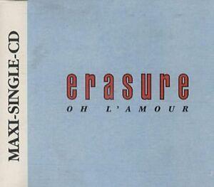 Erasure-Oh-l-039-amour-Re-Mix-1986-88-Maxi-CD