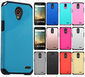 watch d78fb 899b3 Details about Cricket ZTE Sonata 3 Z832 HARD Astronoot Hybrid Rubber  Silicone Case Phone Cover