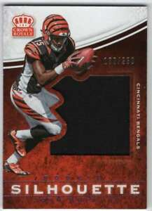 2cdd46f49 Image is loading 2017-Panini-Crown-Royale-Jumbo-Rookie-Silhouette-Jersey-