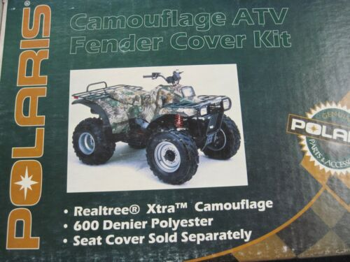 NEW NOS OEM Polaris GEN II ATV Camouflage CAMO Fender Cover Kit 2872074