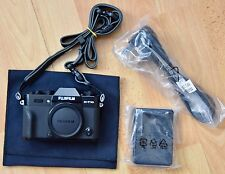 Fujifilm X-T10 Mirrorless Digital Camera - Black (Body Only)