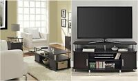 3 Piece Espresso Coffee Table Set Living Room Home Accent Furniture Collection