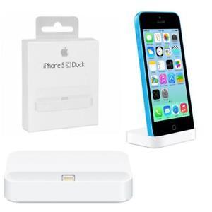 Compatible-APPLE-IPHONE-5-C-White-Lightning-muelle-de-carga-Estacion-de-Carga-Sync-Pod