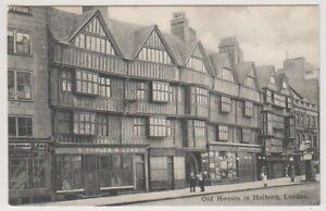 London-Carte-Postale-Vieux-Maisons-En-Holborn-London-A1340