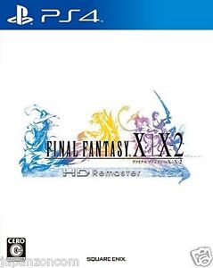 Used-PS4-Final-Fantasy-X-X-2-HD-REMASTER-SONY-PLAYSTATION-4-JAPANESE-IMPORT
