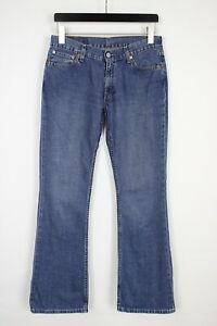 LEVI STRAUSS & CO. 529 17 Women's W30/L34 Blue Faded Bootcut Jeans 35753_GS