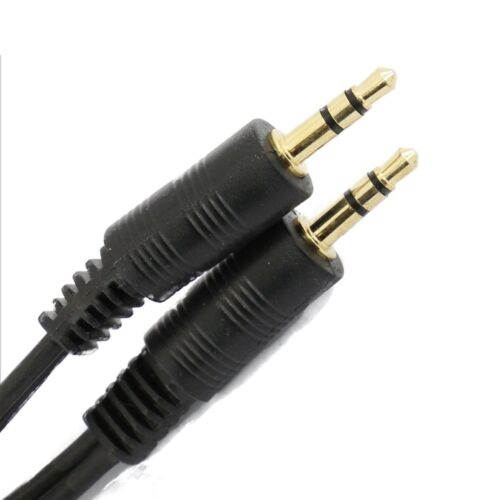 1M 2M 3M 5M 10M 15M 20M 3.5mm JACK PLUG Audio Stereo Auxiliary Cable Lot