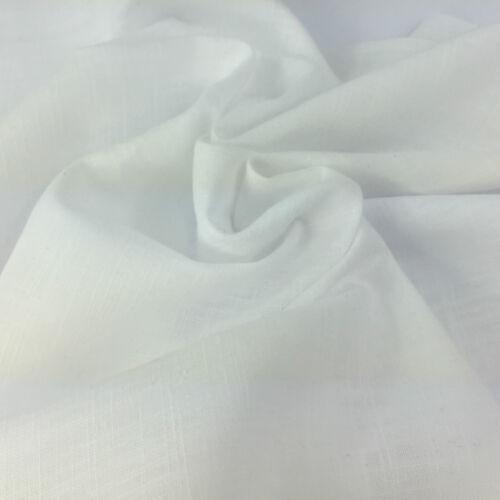 D/'été en lin look 100/% tissu de coton per fq demi mètre mètre livraison gratuite
