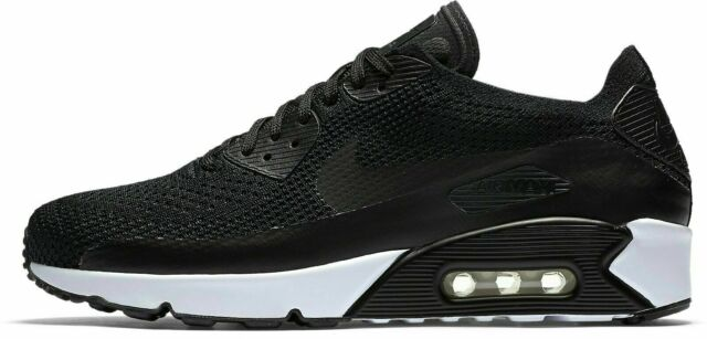 jugo Asombro Iniciar sesión  Men Nike Air Max 90 Ultra 2.0 Flyknit Running Shoes Size 10 Black 875943  004 for sale online | eBay