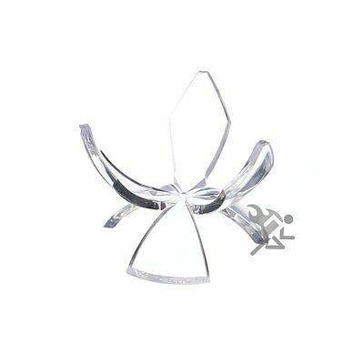 "1-1//2/"" Deluxe Acrylic Three Prong Tulip Display Stand Qty 12"