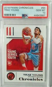Trae-Young-2018-Panini-Chronicles-PSa-10-Gem-Mint-Super-Hot-Rookie-Invest-now-rc