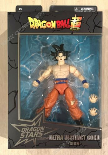 Dragon Ball Super Dragon Stars Ultra Instinct Goku Sign Series 15 Figure Bandai