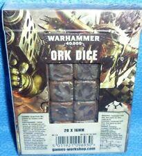 Warhammer 40000 40k Orks Ork 8th Edition Dice Set 111118 a