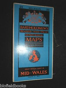 Vintage-Ordnance-Survey-Map-of-Mid-Wales-1952-Paper-on-Cloth-Welsh-Sheet-22