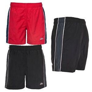 Trespass-Brandon-Black-Red-Boys-Swim-Shorts-for-Beach-Pool-Summer