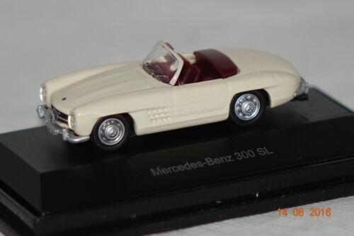 OVP 25719 Mercedes 300 SL Cabrio 1:87 Schuco neu