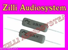 AZ AUDIOCOMP R5.47B/b Coppia resistenze da 47 Ohm 5 W antinduttive Best NUOVE