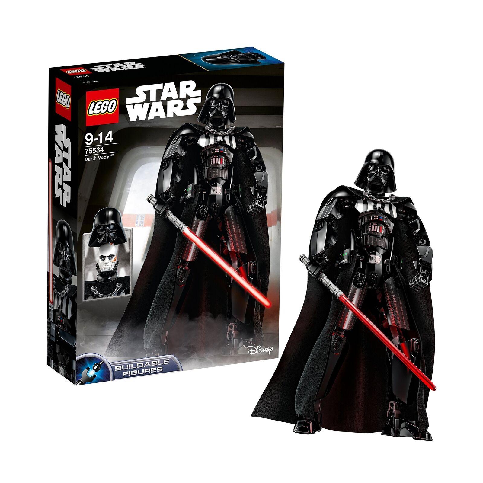LEGO Star Wars Darth Vader TEMPERAMATITE figura.